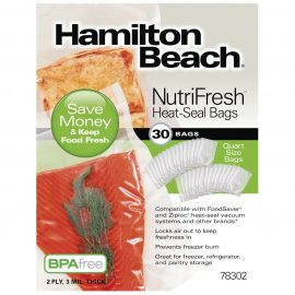 30 Bolsas de Sellado Térmico Hamilton Beach Nutrifresh