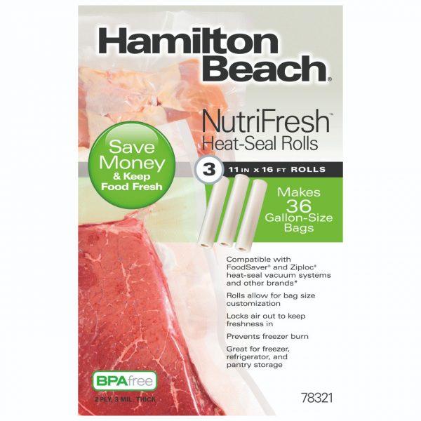ROLLOS DE SELLADO HAMILTON BEACH